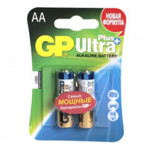 Батарейка GP Ultra Plus 15AUP-CR2 (LR6/AA) 2 шт