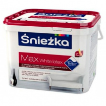 Краска Sniezka MAX White Latex 1л