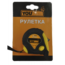 Рулетка Yourtools 274W 2м