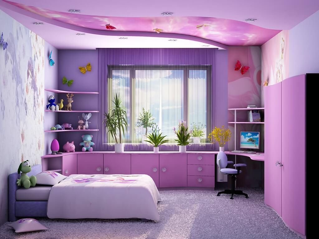 ремонт детских спални дизаин рынке