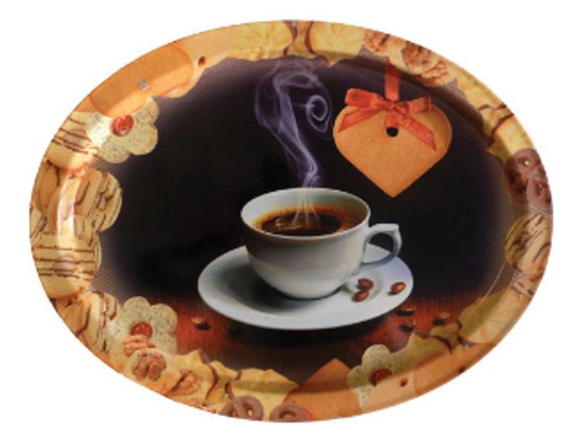 Купить Поднос сервировочный кофе артикул PD002-Y