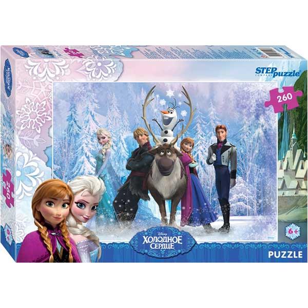 Купить Мозаика puzzle 260 Холодное сердце арт. 95028