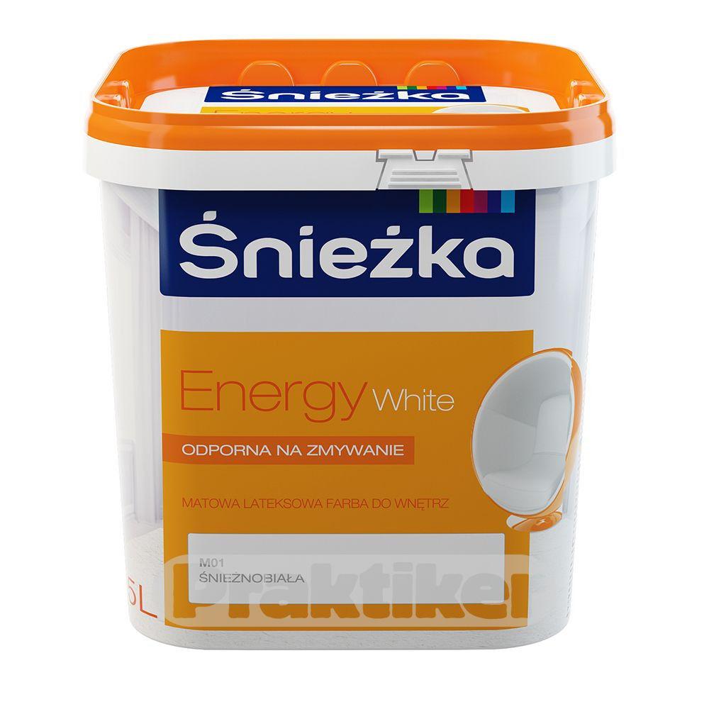 Купить Краска Sniezka Energy White 5 л