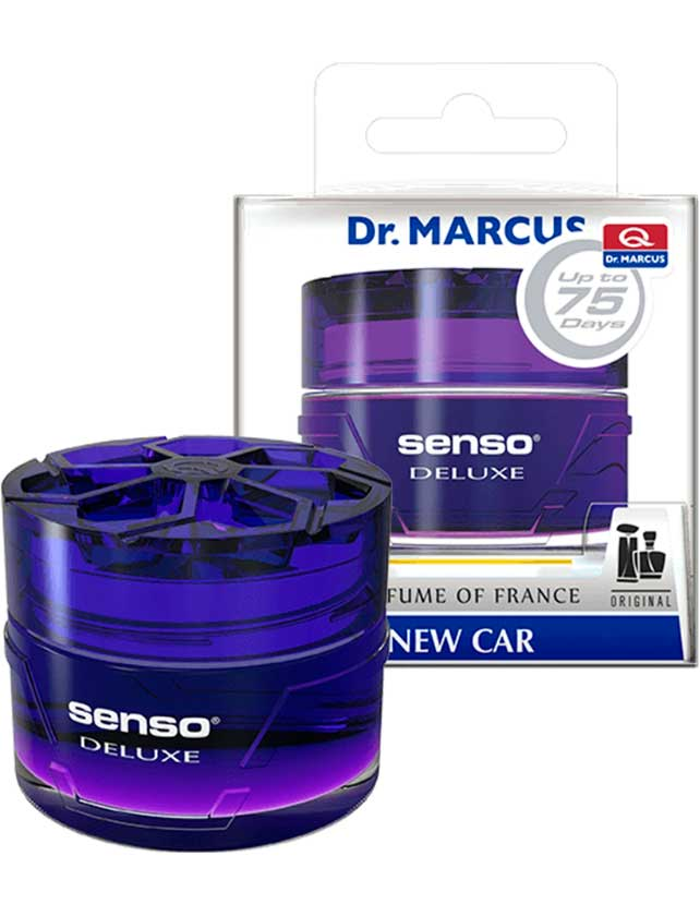Купить Ароматизатор гелевый Dr. Marcus Senso Deluxe New Car, 50 мл