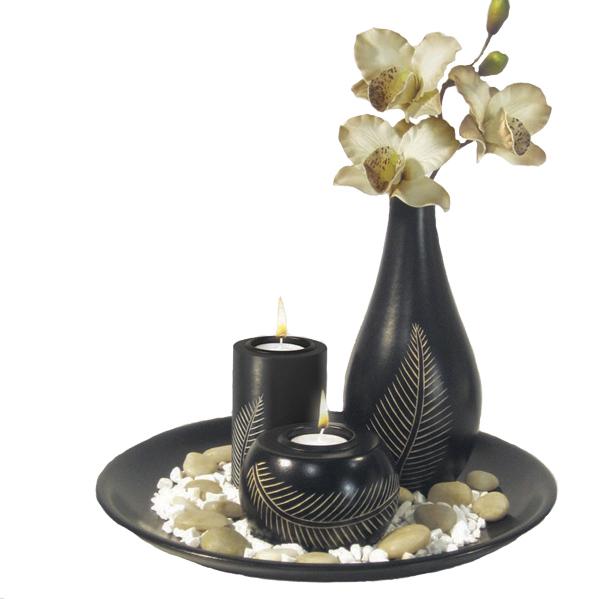 Купить Набор подсвечников декоративных, мдф, 29, 5*10см, арт. 6S1028