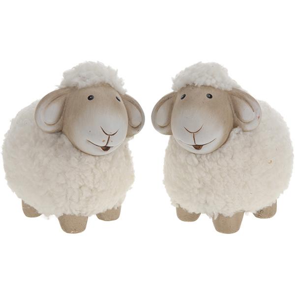 Купить Сувенир керамический Овца 10см, арт. ALX101170