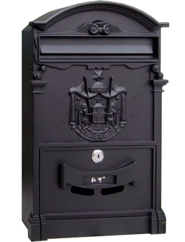 Купить Ящик почтовый BASTION графитный черный