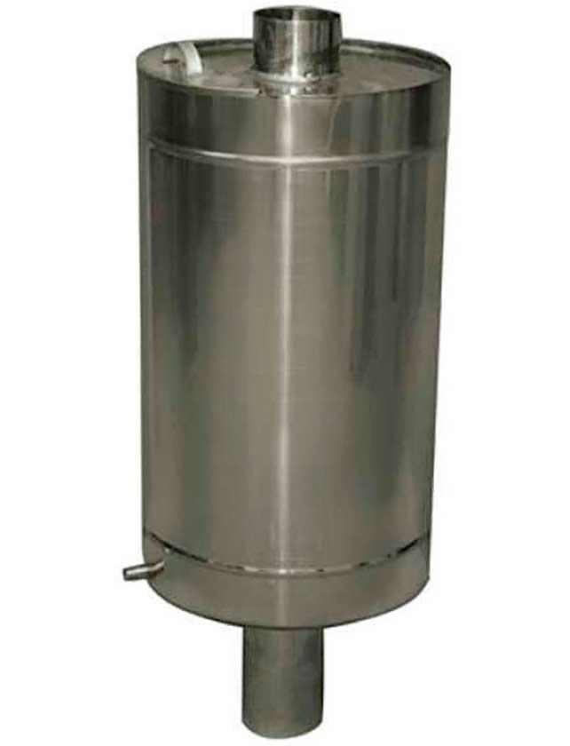 Купить Бак круглый самоварного типа 80 л. нерж. сталь AISI430-1, 0 мм.
