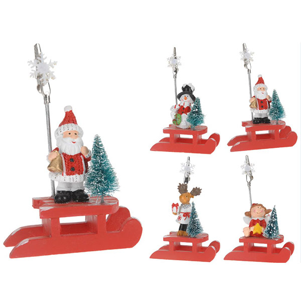 Купить Сувенир новогодний DH8005630 в ассортименте, полистоун