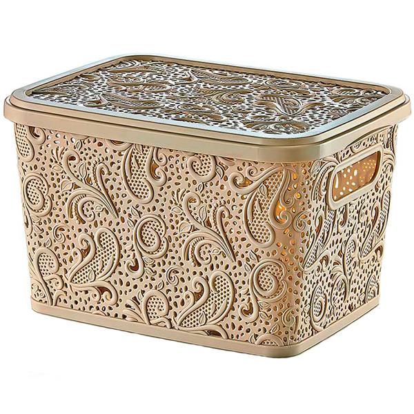 Купить Корзина декоративная Floria Lace 04 1211, 24х33х17 см, 10 л