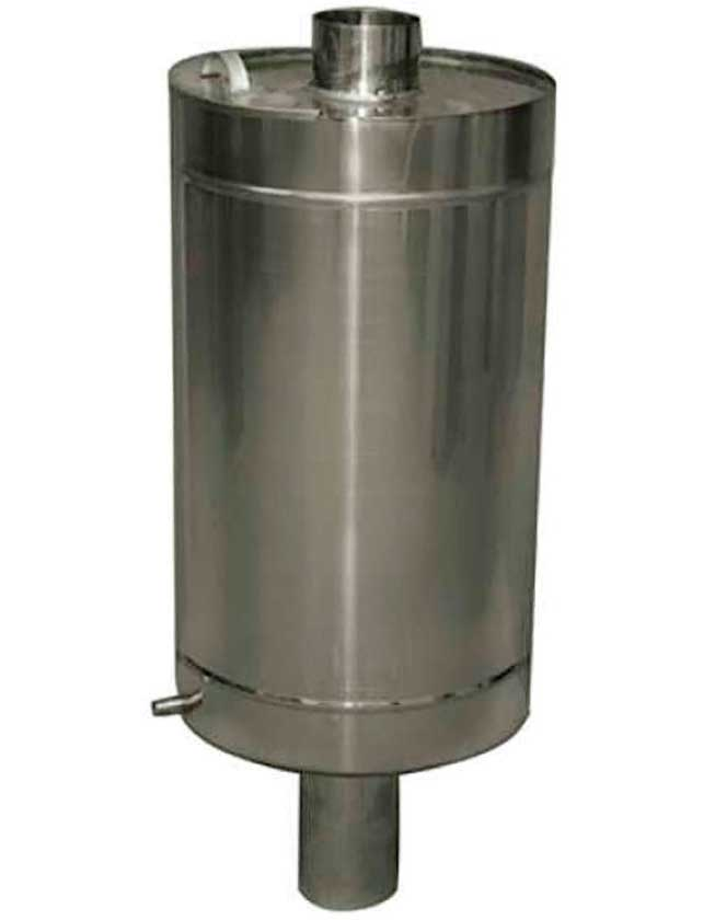 Купить Бак круглый самоварного типа 60 л. нерж. сталь AISI430-1, 0 мм.