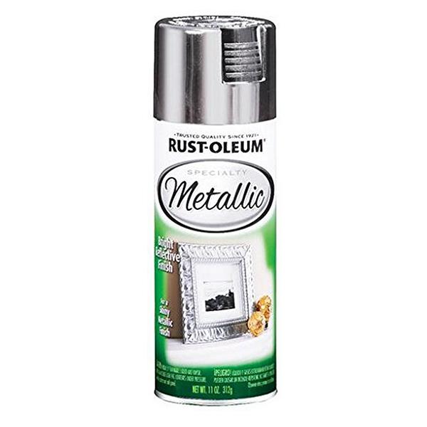 Купить Краска Rust Oleum Specialty с эффектом яркого металлика Серебро 0.312кг