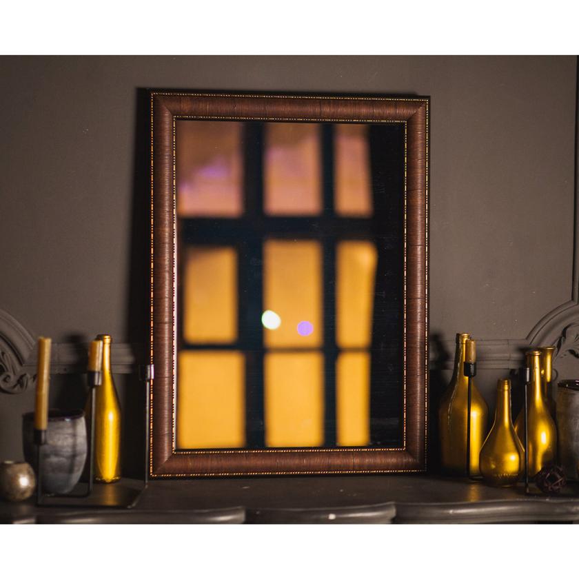 Купить Зеркало W176-2 c рамой в комплекте, 800х600мм