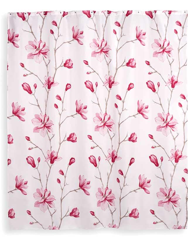 Купить Штора для ванной тканевая 180х200 см Liseron, арт. T633-8 (т.м VERRAN)