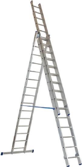 Лестницы трехсекционные Elkop PROFI VHR P 3x16  - купить со скидкой