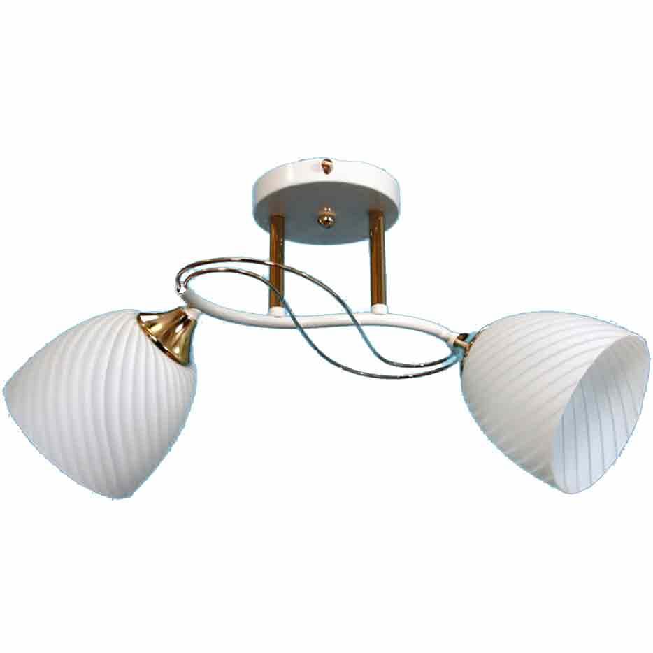 Производитель не установлен / Свяцільня падвесны Nina Lighting MX-31031/2 FGD+WH, 2х60 Вт
