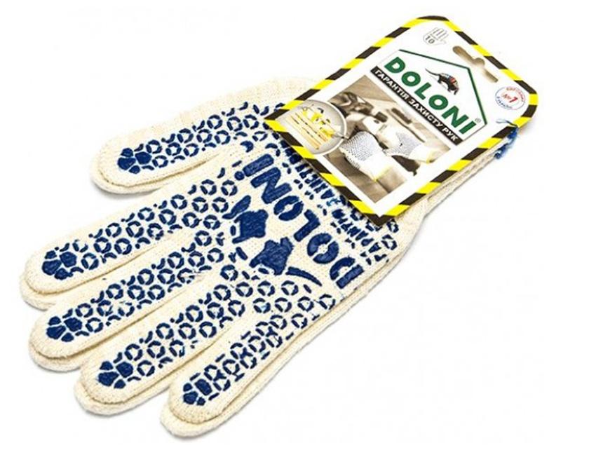 Купить Перчатки трикотажные с ПВХ 520