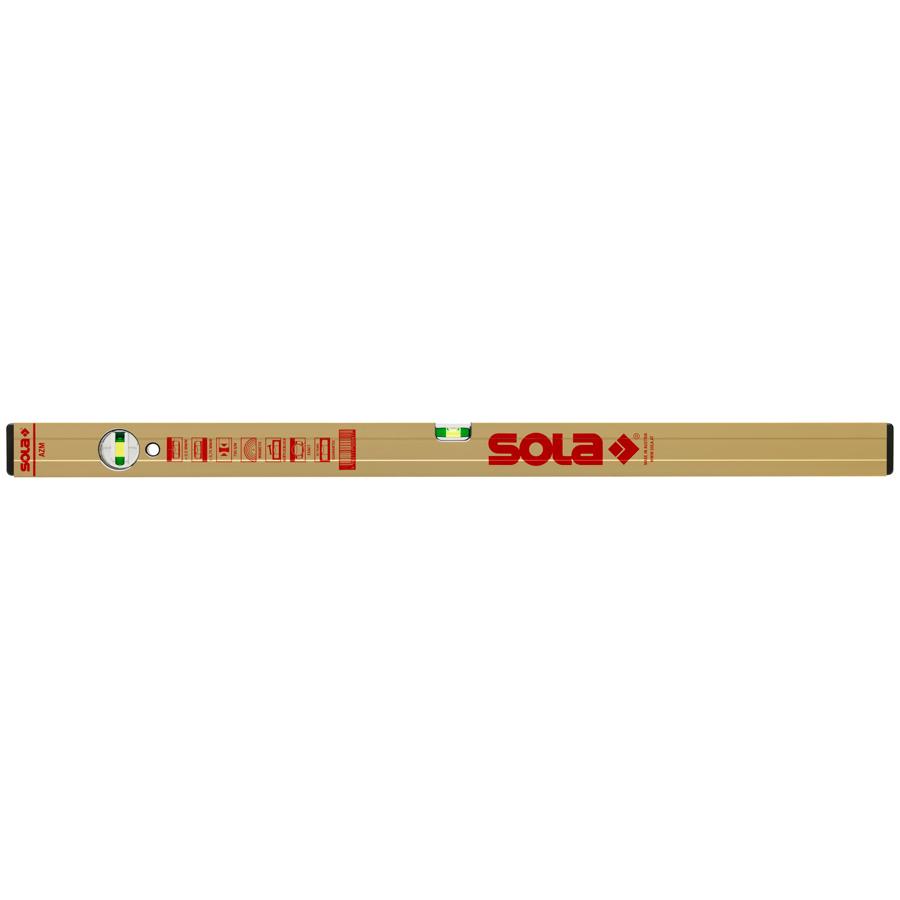Купить Уровень брусковый магнитный SOLA AZM 3 100, 3-глазковый, 1 м