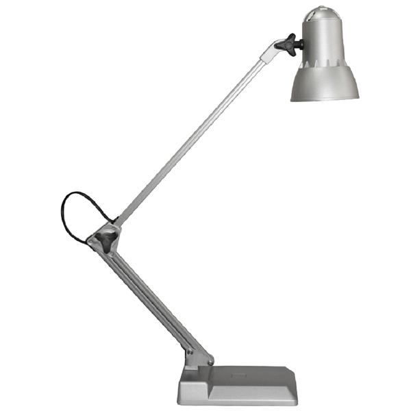Светильник настольный ученический Надежда НДБ 37-40-169 серебро, 1х40 Вт