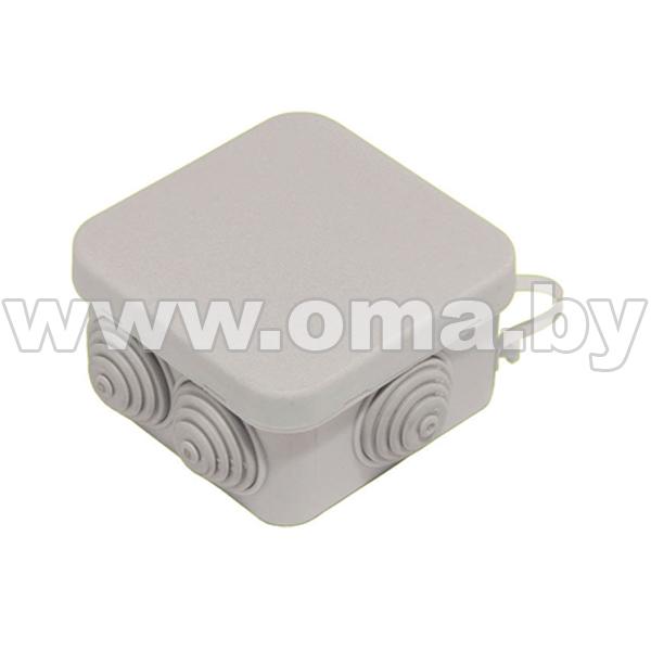 Купить Коробка монтажная, разветвительная для откр. установки прямоугольная КР2605-И (г/р 79, 6х79, 6х44)мм HEGEL