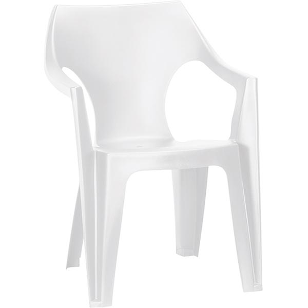 Стул Данте белый, полипропилен, арт.220573  - купить со скидкой