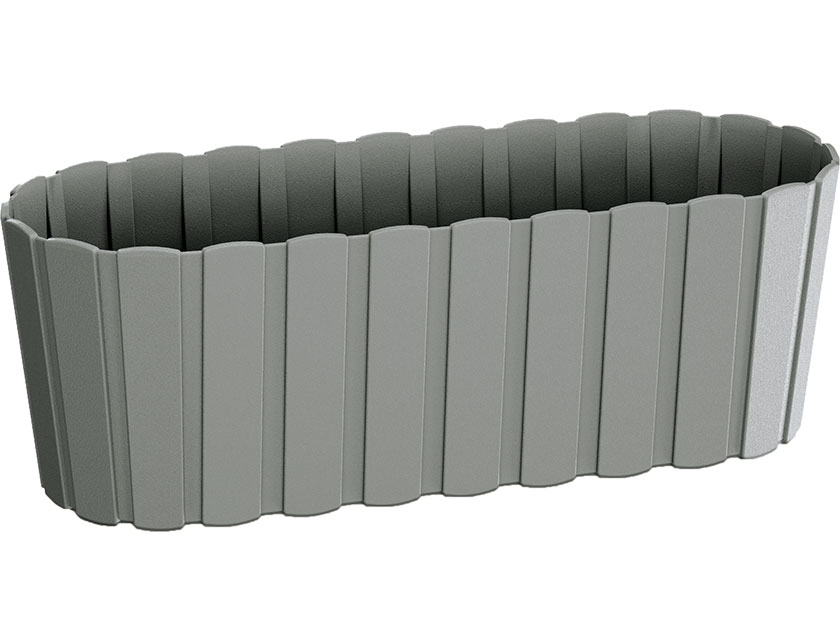 Купить Кашпо BOARDEE DDEC400-405U серый 13см