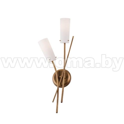 Купить Светильник настенный (бра) OSHINE KM-2.45 sat (2*40Вт, Е14) Lamkur