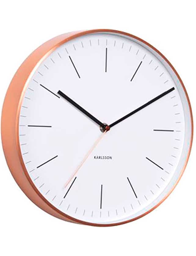 Купить Часы настенные артикул YP7164650 D-30 см алюминий