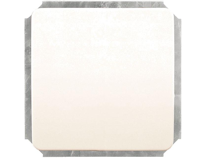 Купить Выключатель одноклавишный проходной без рамки Gusi Extra С1В4-001 белый