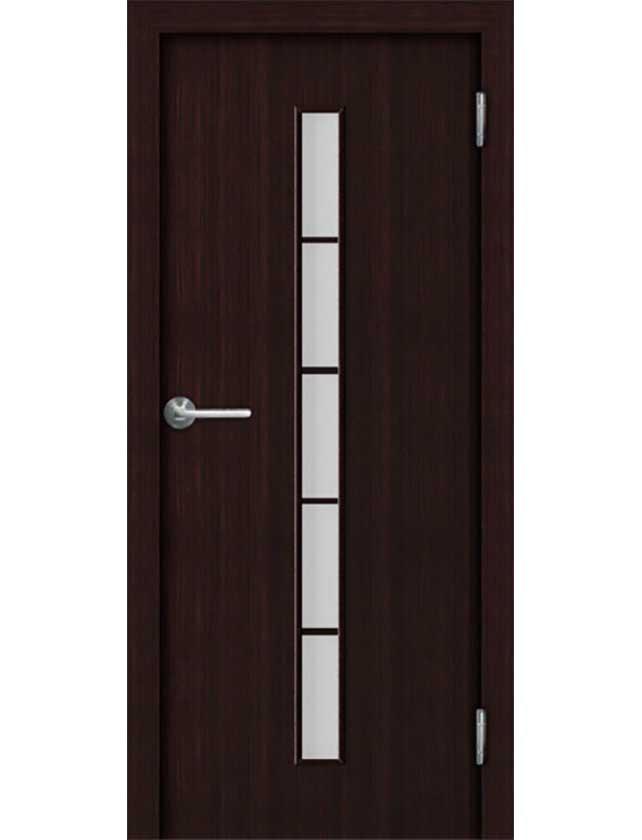 Купить Дверное полотно ПВДЧ 20-8 (Арт. С2М PL-В) ламин., венге