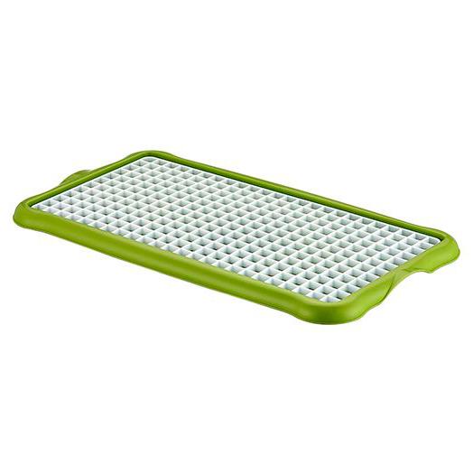 Купить Сушилка-поднос для посуды, 22*40, 5*1, 6см, пластик, арт.04 1311