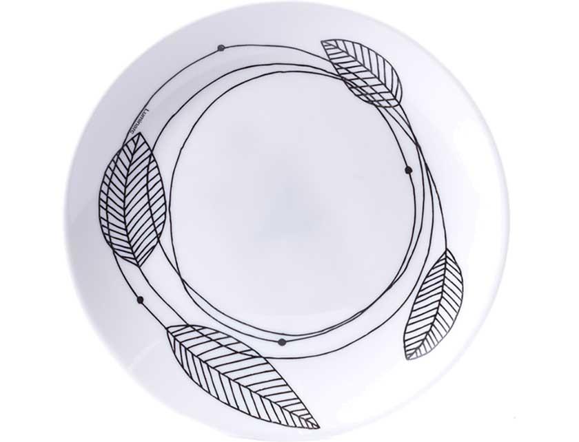 Купить Тарелка десертная стеклокерамическая Diwali Sketch N9691, код 176557, 19 см