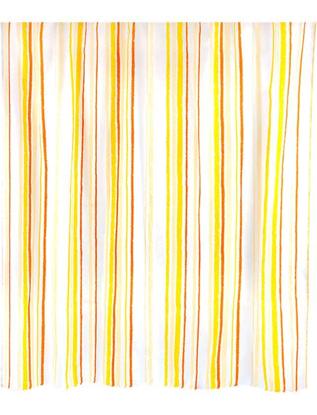 Купить Штора для ванной тканевая 180х180 см Indwen yellow, арт. 630-87 (т.м WESS)