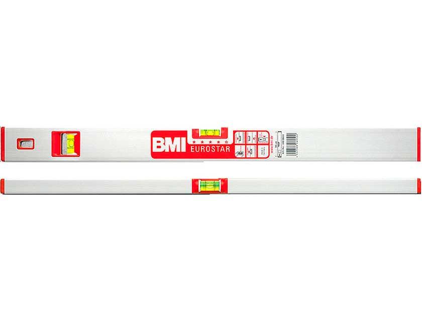 Купить Уровень брусковый BMI EUROSTAR, 2-глазковый, 1, 2 м