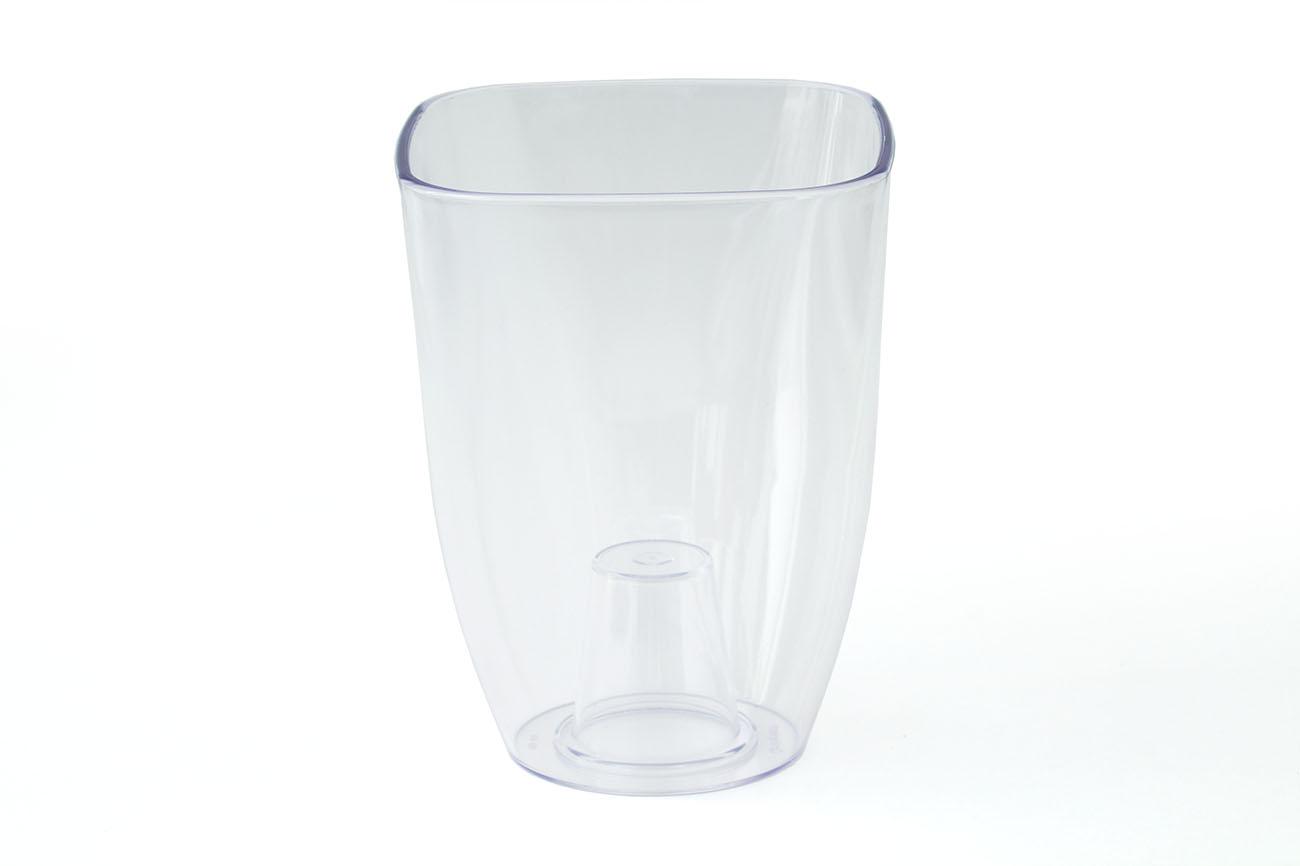 Купить Ваза для орхидей малая 125x125x165(арт.Т3220) прозрачный, пластик