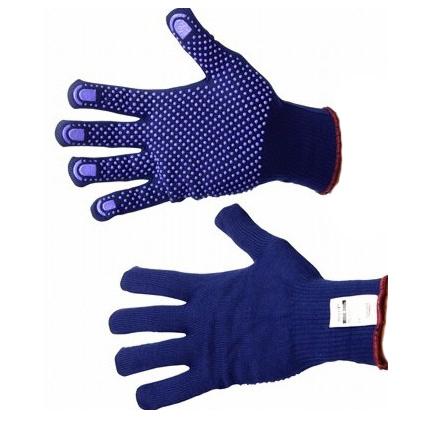 Перчатки Файбер Таф арт.76-501 вязанные с ПВХ р-р 8  - купить со скидкой