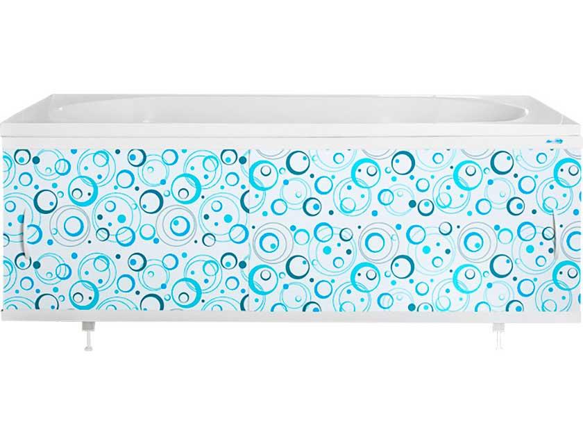 Купить Экран для ванны Ваннбок Коктейль голубой 1, 5 м