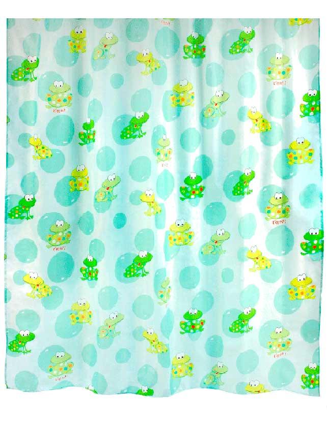 Купить Штора для ванной тканевая 180х180 см Toadland, арт. 630-84 (т.м VERRAN)