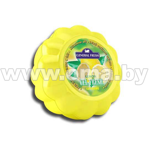 Купить Освежитель воздуха GEL FRESH лимон, 150гр.