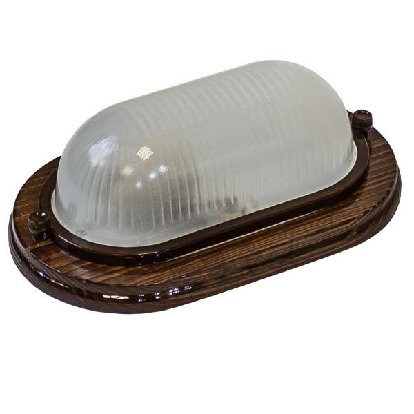 Купить Светильник настенно-потолочный Кантри орех 021 IP54 НБO 04-60-021