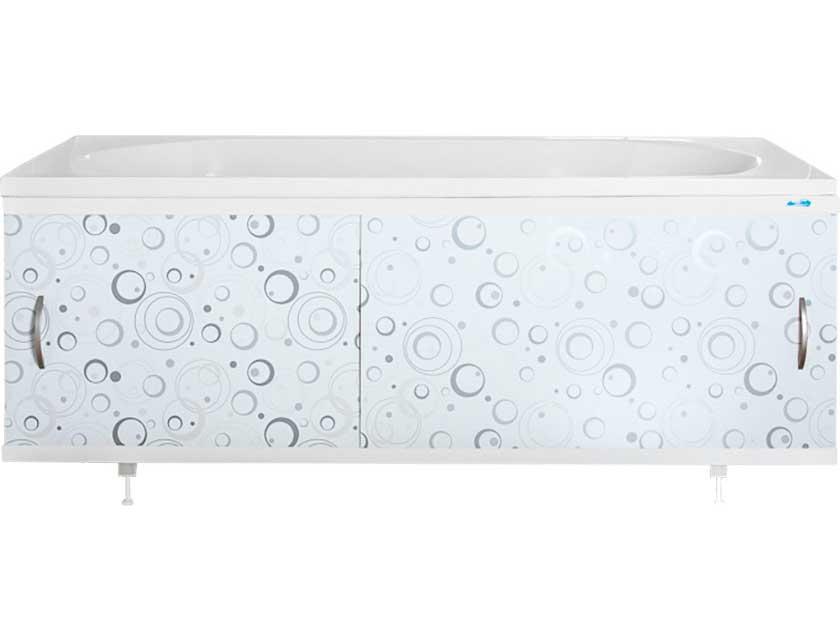 Экран для ванны Ваннбок Коктейль серый 1, 5 м  - купить со скидкой