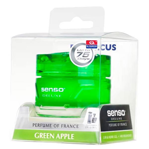 Купить Ароматизатор гелевый 50мл. Dr. Marcus Senso Deluxe Green Apple