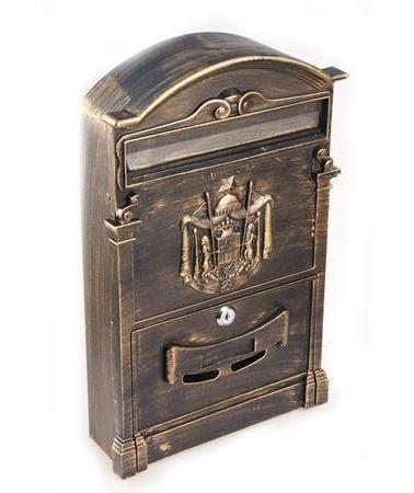 Купить Ящик почтовый BASTION бронзовый антик