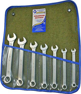 Купить Набор ключей Камышинский инструмент 8-19 7 предметов КГК 7
