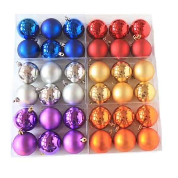 Купить Набор шаров ёлочных 6 шт. 8см, арт. F16-16111