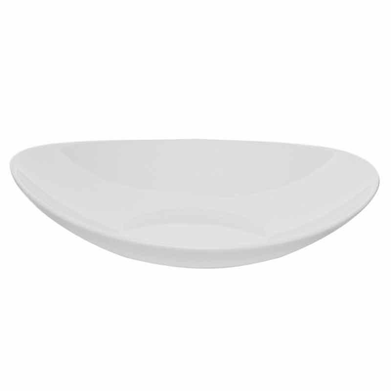 Купить Тарелка глубокая артикул 490410-990, 23х20 см стекло