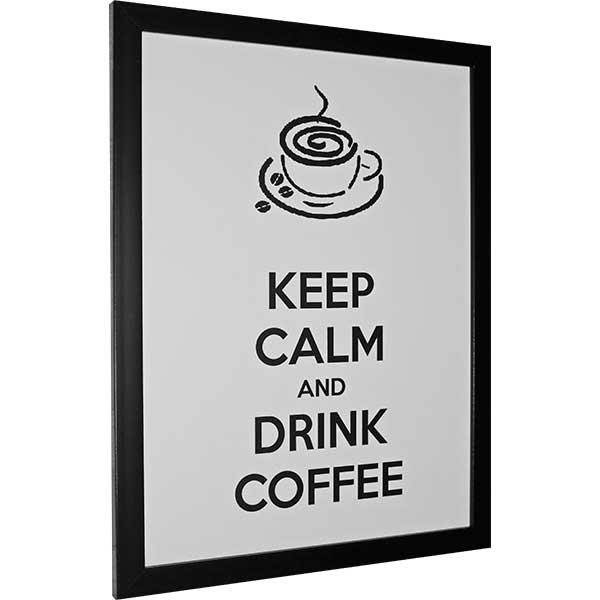 Купить Картина со смыслом Пей кофе.Светлая 1301011, 34х44 см