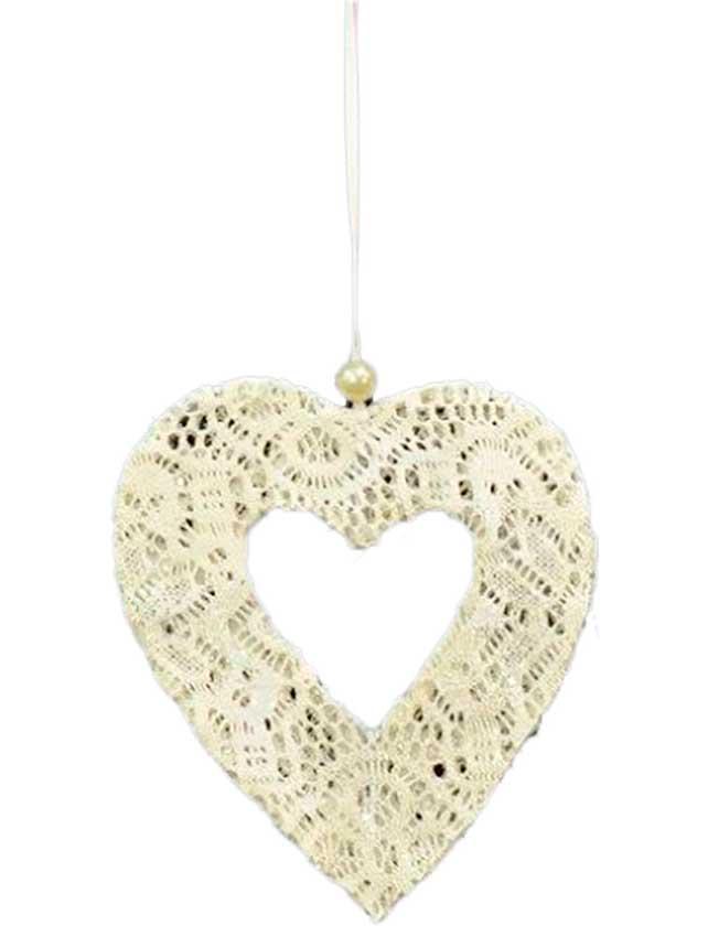 Купить Украшение-подвес Сердце, 13х15 см