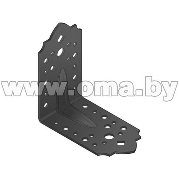 Купить Уголок усиленный черный SDSKP 1 115x115x65 Арт.89861
