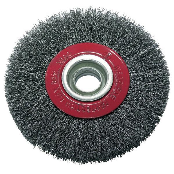 Купить Щетка радиальная проволочная PROLINE 32542 жесткая ф125х22 мм